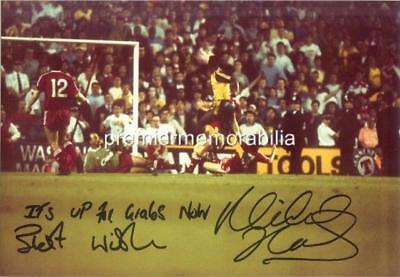 ARSENAL FC 1989 MICHAEL THOMAS GOAL v LIVERPOOL SIGNED
