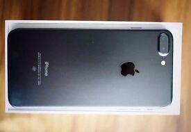 IPhone 7 plus 256GB matte Black - o2