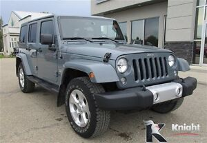 2014 Jeep Wrangler Unlimited Sahara NAV Remote Start Heated Seat