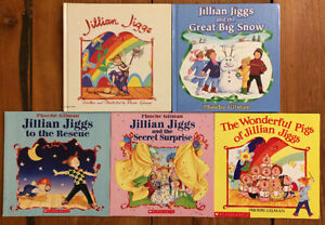 Complete Series of JILLIAN JIGGS by Phoebe Gilman 5 for $20
