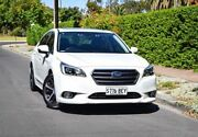 2014 Subaru Liberty B6 MY15 2.5i CVT AWD Premium White 6 Speed Constant Variable Sedan Medindie Walkerville Area Preview