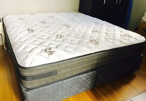 Sealy Posturepedic Excuisite King Size Bed in excellent condition Lewisham Marrickville Area Preview