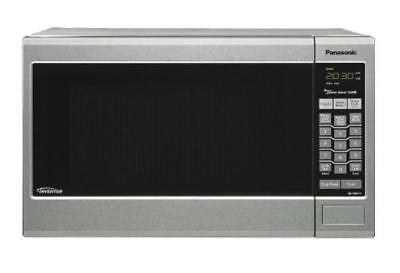Panasonic Stainless Steel Microwave Oven, 1.2 cubic feet, 12