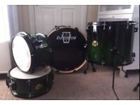 Ludwig Element Emo 3 piece Shell Pack & Snare