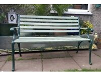 Garden bench /cost iron ends