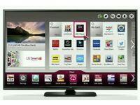 "LG 60"" Slim 3D FULL HD SMART TV WITH BUILT IN WiFi FREEVIEW HD, HDMI NEW CONDITION FULLY WORKING"