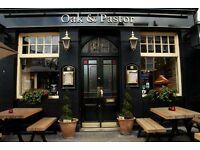 Full time/Part time bar staff needed for busy pub - N19