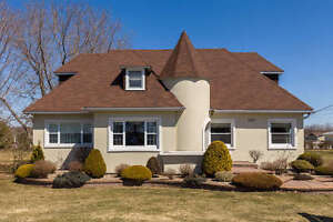 Move in ready and charming for 4 bedroom and 2 bathroom  home