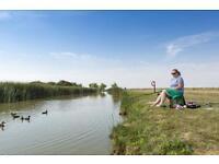 CHEAP FIRST CARAVAN, Steeple Bay, Southend, Burnham, Essex, Hit the Link-->
