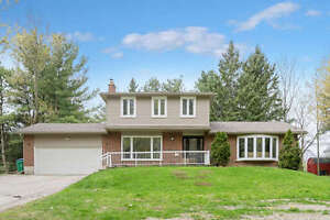 CALEDON EAST - UPDATED HOME ON BEAUTIFUL 3/4 ACRES