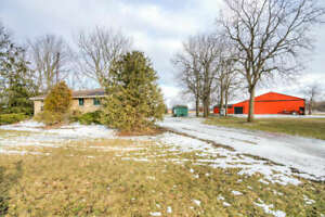 **NEW LISTING!** Lambton Shores 26.69 acres with barn and stalls