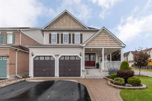 Great Open Concept Family Home in North Oshawa!