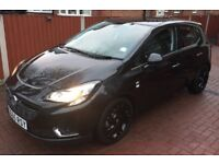 VAUXHALL CORSA E RIGHT SIDE ELECTTICAL WING MIRROR IN BLACK OFF 2015 PLATE
