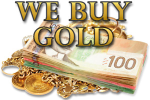 $$$ WANTED - We Buy Gold - Cash For Gold Owen Sound $$$