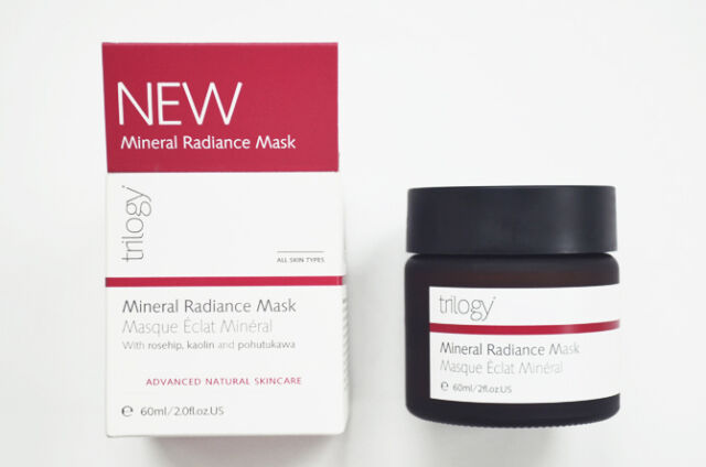 Trilogy Mineral Radiance Natural Creamy Clay Mask 60ml Skincare