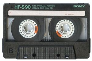 AUDIO CASSETTES =SONY,  TDK =USED but in MINT condition