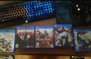 Selling ps4 games all very lighty used.