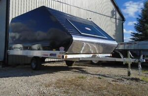 Looking for enclosed snowmobile trailer London Ontario image 1