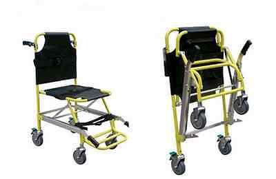 EMS Stair Chair Stretcher Rescue Stairway Medical Aluminum Stretcher Frist Aid 1