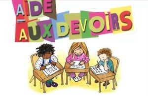 AIDE AUX DEVOIRS / HELP FOR HOMEWORKS