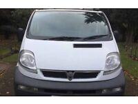 06 reg Vauxhall vivaro 2 side londing door long mot