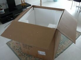 Cardboard box for house move