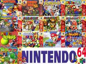 Looking for all Nintendo 64 items!@