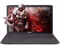 Gaming laptop ASUS ROG GL752VW + FREE laptop bag + FREE gaming mouse