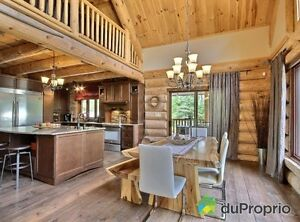 Waterfront log home for sale on Lac Notre-Dame in La Pêche. Gatineau Ottawa / Gatineau Area image 3
