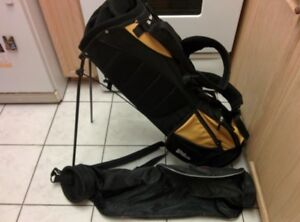 2 Wilson Golf Bags (one with stand)
