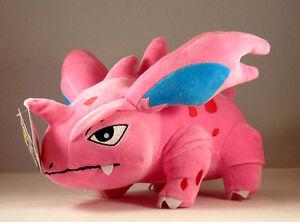 Pokemon-NIDORINO-plush-doll-12-inches-30-cm-NIDORINO-UK-Stock-Fast-Shipping