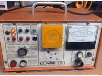 Clare a255 series2 pat tester