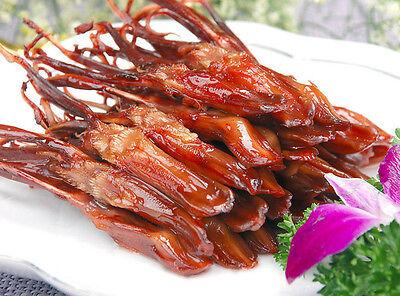 480g Chinese Food Snack Vacuum-packed Spicy Sauce Taste Duck Tongue 修文鸭舌 温州特产