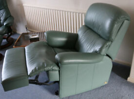 Sherbourne leather recliner chair