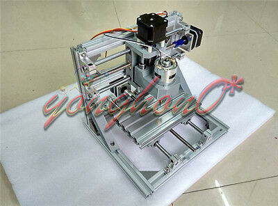 Mini Diy 3 Axis Engraver Machine Milling Wood Carving Engraving Kit Cnc