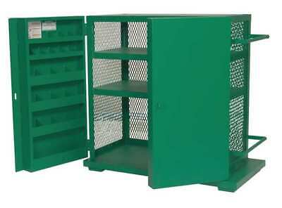 Greenlee 5060 Mesh Jobsite Storage Cabinettool Box 52h X 48w X 28d Green