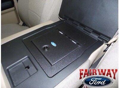 15 thru 20 F-150 OEM Genuine Ford Armrest w/ Split Bench Security Vault Gun Safe