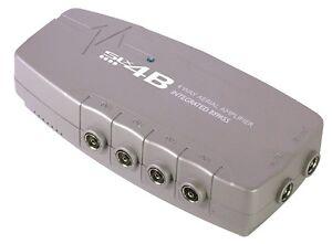 4-Way-Digital-TV-Sky-Aerial-Signal-Booster-Amplifier-Bypass