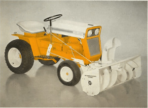 Looking for a Snowthrower for 1960s Cub Cadet garden tractor