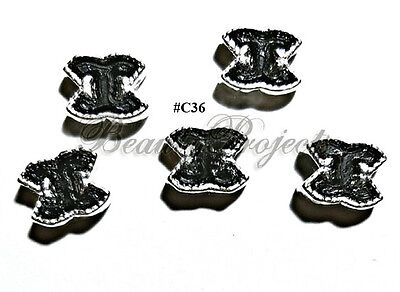 5pc Nail Art Charms 3D Nail Rhinestones Decoration Jewelry DIY Bling - C36 for sale  USA