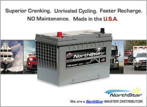 Northstar Pure lead AGM Car Battery
