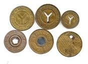 NYC Transit Subway Tokens
