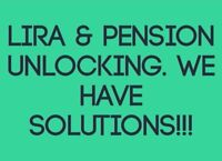 Need Money From You Pension or Lira? We Can Unlock It