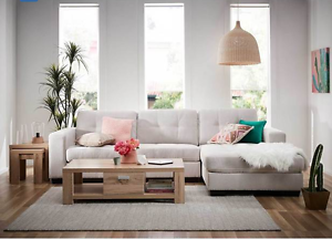 NEW- IN BOX - UNOPENED – Tivoli 3 Seater Sofa/Couch with Chaise Westmead Parramatta Area Preview