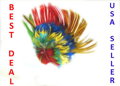 Rainbow Mohawk Gay Pride Wig Costume Punk Rock Rocker Halloween Spike Hair  - Gay Costume Halloween