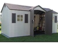 Lifetime 15x8 brand new boxed shed for Sale