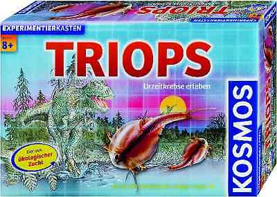 TRIOPS - Urzeitkrebse erleben KOSMOS Experimentierkasten Starter-Set Dinosaurier