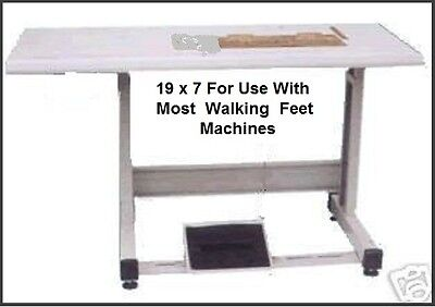 New Table Set For Most 1-ndl Walking Feet 19x7 Cut Out Industrial Sewing Machine