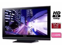 Panasonic 46 inch TV Full HD 1080p 100Hz with Freeview built in, 3 x HDMI SD Card Slot not 40 42 43