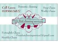 Pixie dust cleaning services